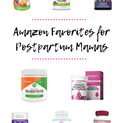 Best Vitamins and Supplements for Postpartum Moms on Amazon