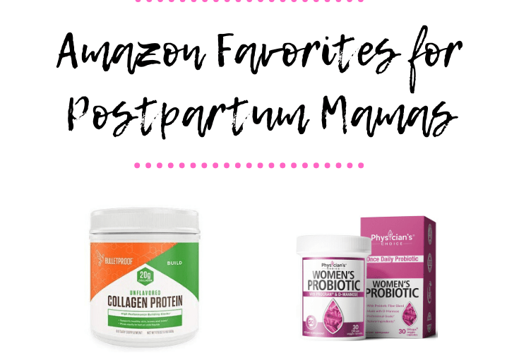 The Best Vitamins and Supplements for Postpartum Moms on Amazon