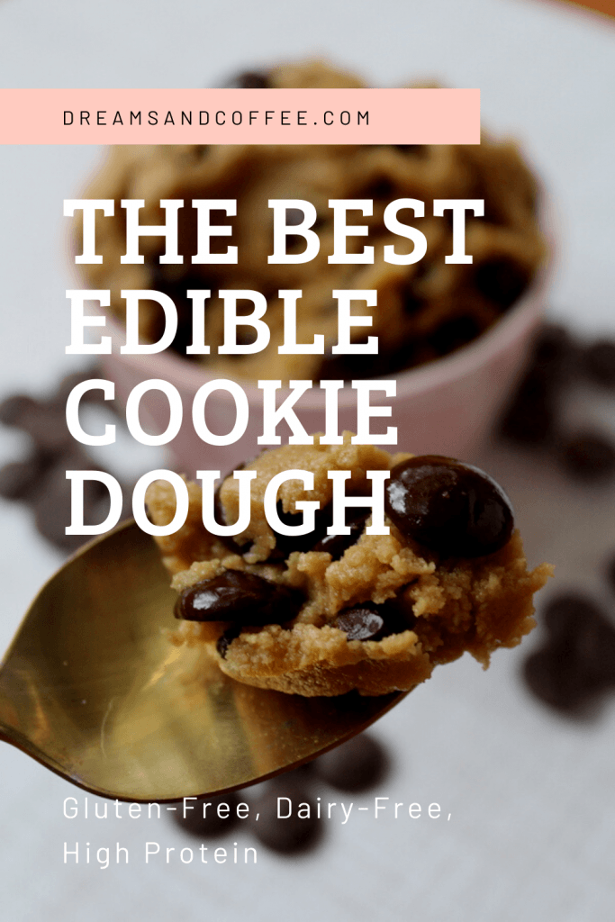 Edible Chocolate Chip Cookie Dough | Gluten-free, Dairy-free Cookie Dough