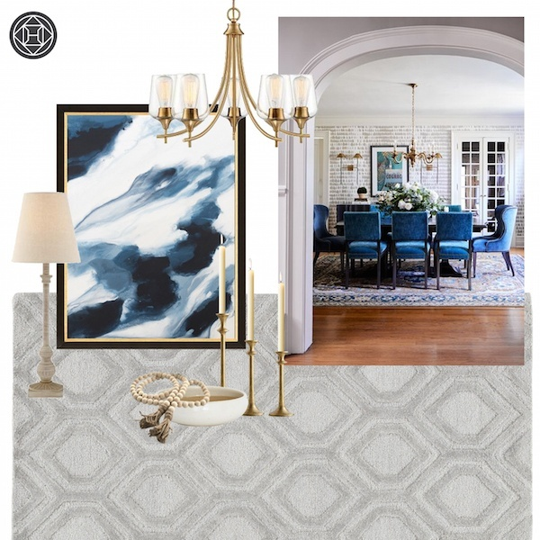 Working with Havenly to Design a Dining Room