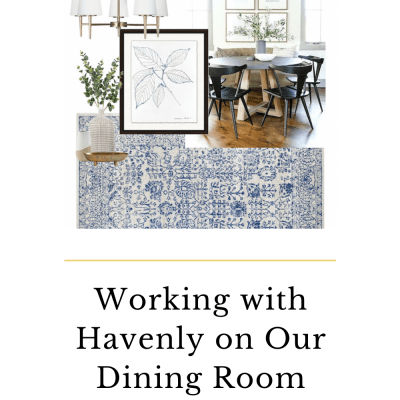 Working with Havenly | Dining Room Design