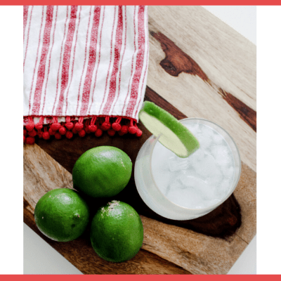 Homemade Skinny Margarita Recipe