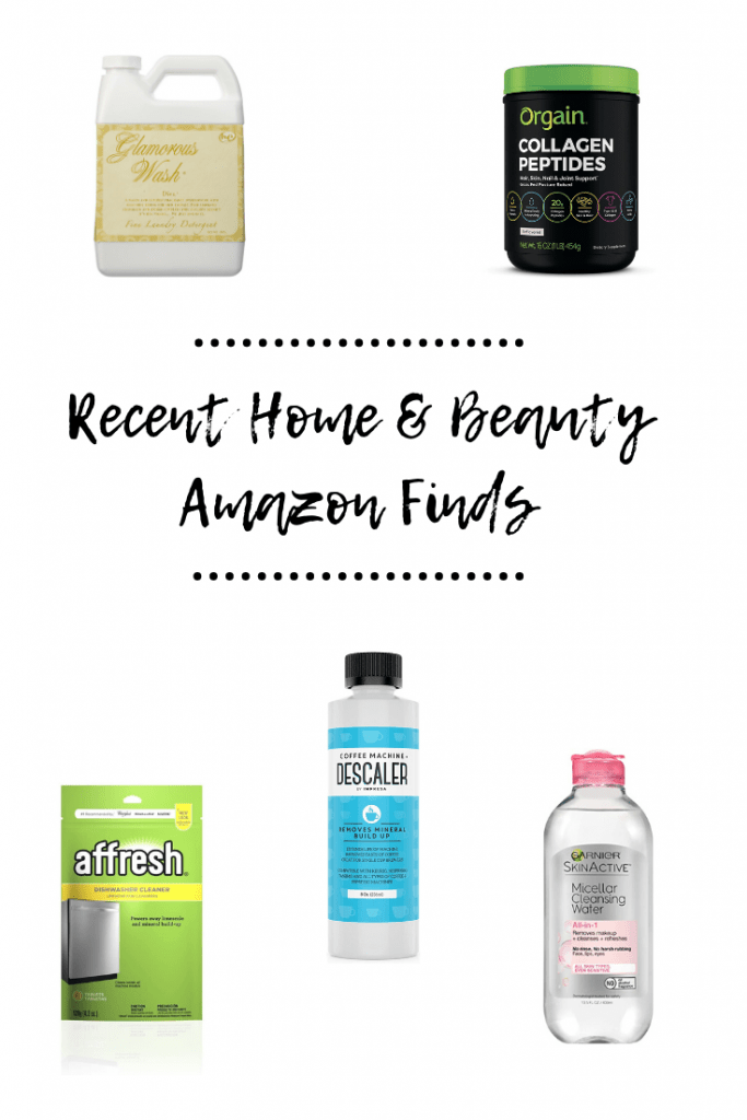 Recent Home & Beauty Amazon Finds