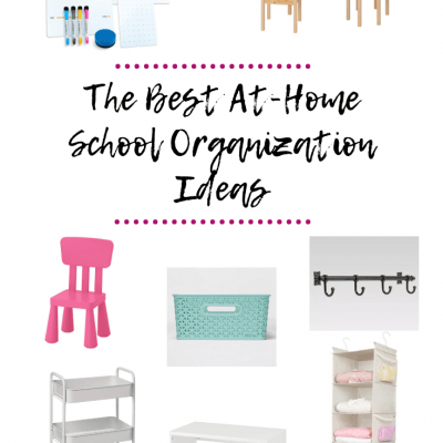 At-Home School Organization Ideas