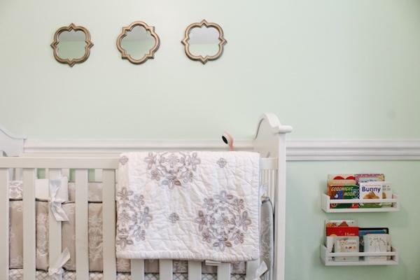 Mint Green Nursery Decor