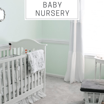 Brynn's Mint Green Nursery | Baby Girl Nursery Inspiration