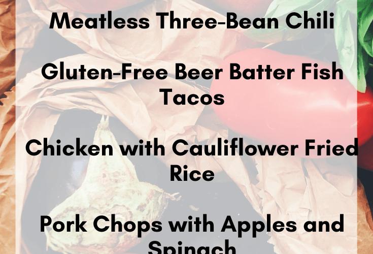 Clean Eating Meal Plan   Paleo, Whole30, Macro-Friendly Dinner Ideas