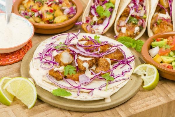 Gluten-Free Beer Battered Tacos