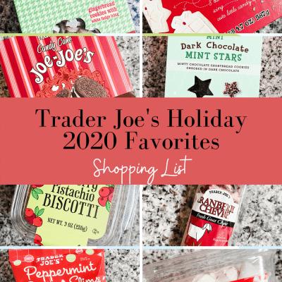 Trader Joe's Holiday Favorites