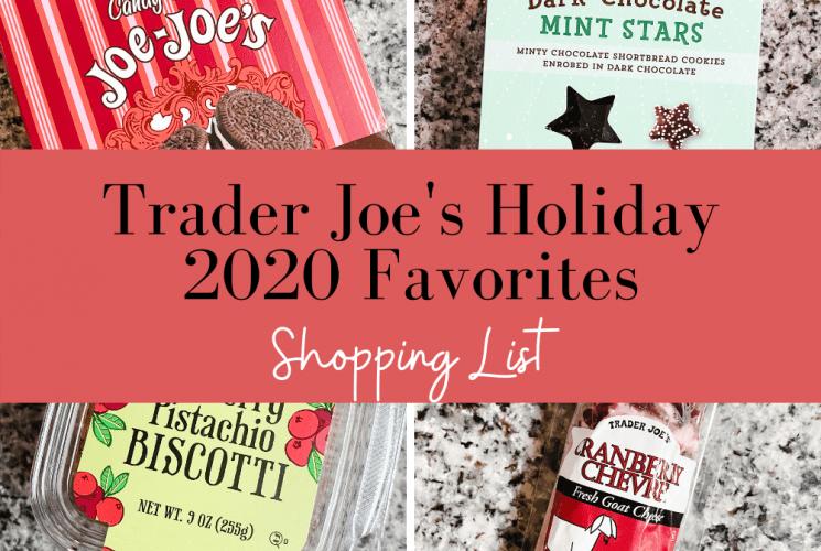 Trader Joe's Holiday Favorites Shopping List