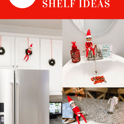 Fun and Simple Elf on the Shelf Ideas