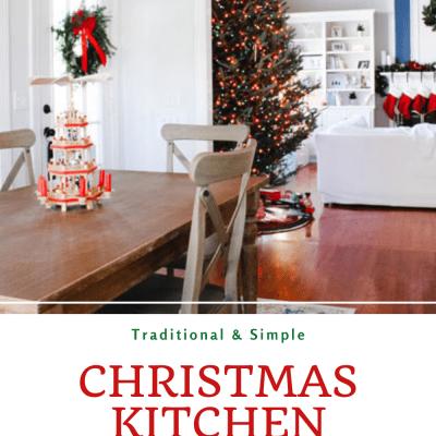 Festive Christmas Kitchen Decor | Holiday Home Tour