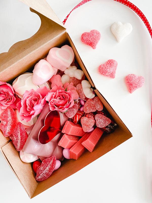 Valentine Candy Gram Box